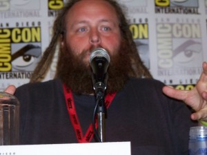 Dale @ Comic Con doing the Panel Thing